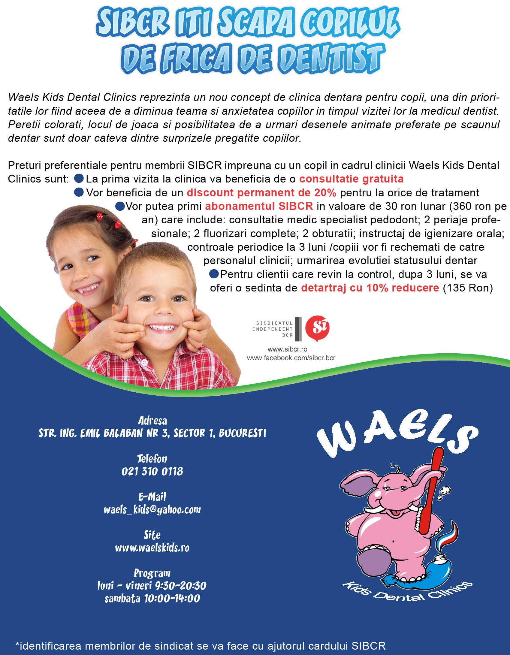 Waels Kids Dental Clinical
