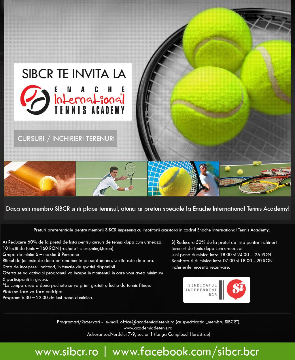 Enache Tennis Academy